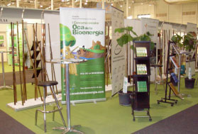 Stand in the Expobioenergy 2008 Fair in Valladolid
