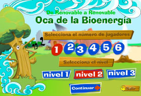 "On Line competition with ""Goose of Bioenergy"" game"